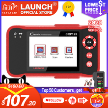 LAUNCH CRP123 obd2 OBDII code reader scanner Engine ABS Airbag Transmission car diagnostic tool Multilingual free update online