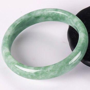 Bracelet Jonc En Jade Vert