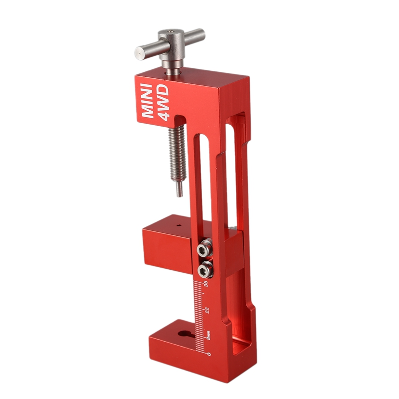 FBIL-Aluminum Alloy <font><b>4WD</b></font> <font><b>Tire</b></font> Installer Large/Small Bearing Top Rail Tyre Wheel Mounting Device Tool for RC <font><b>Tamiya</b></font> <font><b>Mini</b></font> <font><b>4WD</b></font> Racin image