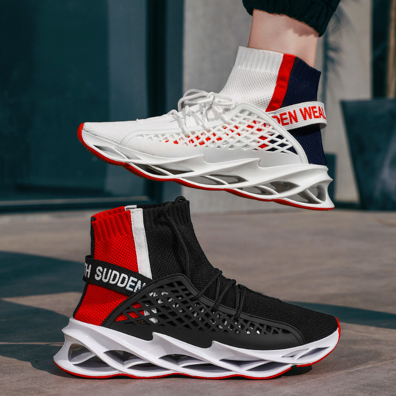 2020 new mens casual shoes mens non slip socks knife tide shoes breathable lightweight mens sports shoes breathable net shoesMens Casual Shoes   -