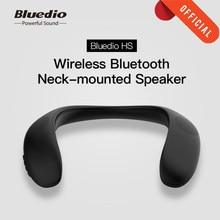 Bluedio HS Neck-montiert Lautsprecher Drahtlose Bluetooth 5,0 Tragbare Lautsprecher mit Bass FM Radio SD Card Slot surround sound schwarz