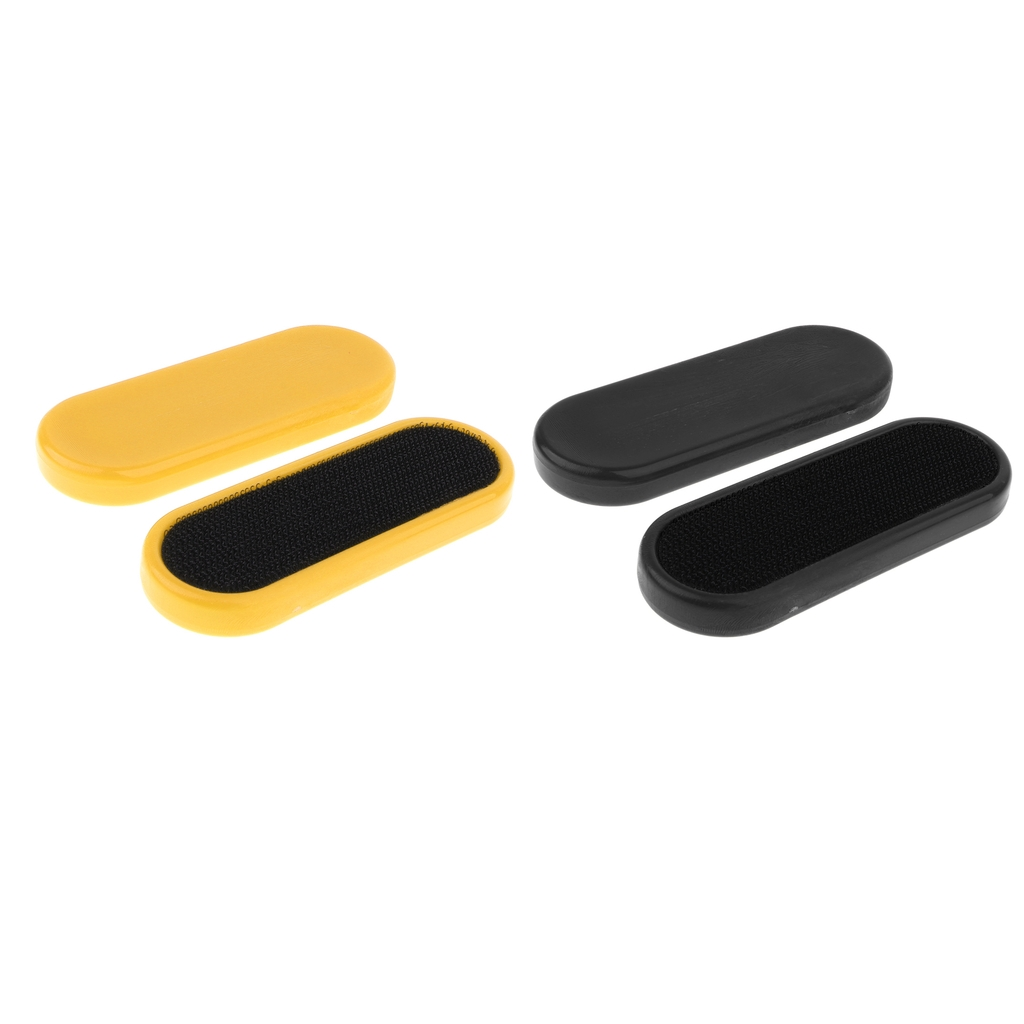 2 Pairs Replacement Skateboard Blocks Sliding Gloves Palm Pucks For Men Women Outdoor Skating Hands Protection
