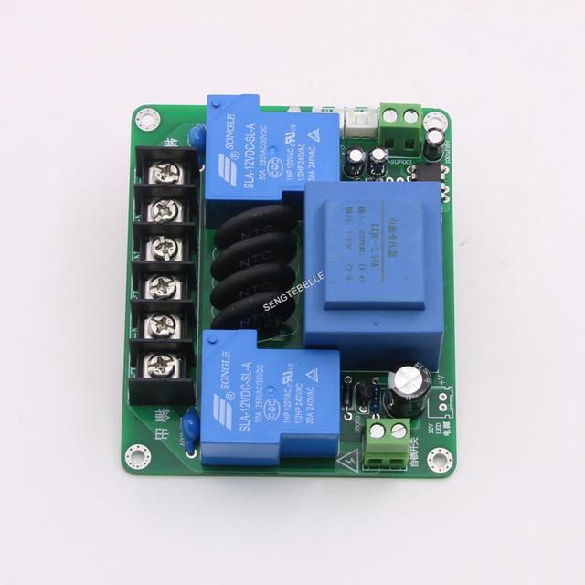Assembled Hifi 220V Class A power amplifier soft start power board 30A PSU protect board