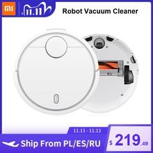 Xiaomi Robô aspirador de pó Mi para piso rígido, doméstico, varredura automática de tapetes, limpador de poeira, planejamento inteligente, sem fio, controlado por aplicativo Mijia
