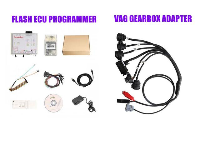 KTMFLASH 1.95 Programmer Plus VAGเกียร์อะแดปเตอร์อ่านเขียนสำหรับDQ250 DQ200 VL381 VL300 DQ500 DL501