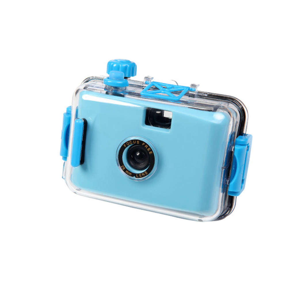 Camera Durable With Housing Case Photography Birthday Gift Digital Film For Snorkeling Mini Fashion Waterproof Cute Underwater