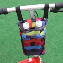Jazda na rowerze wodoodporna torba do przechowywania z przodu rower dla dzieci kosz telefon komórkowy pojemnik na termos wody torby na motocykl pojazd elektryczny torby tanie tanio Bonytain Other Składany Bicycle Bags 600D canvas About 16 5*27cm 6 50*10 63in As show 4 colors for you choose Bicycle storage bag