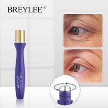 BREYLEE Retinol Serum do oczu usuń drobne linie zmarszczki nawilżające przeciwzmarszczkowe ujędrniający skórę pod oczami wałek przeciwzmarszczkowy skóra dojrzała pielęgnacja