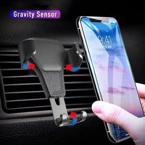 Универсальная Гравитация Авто Автомобильный держатель телефона для автомобиля, устанавливаемое на вентиляционное отверстие в салоне автомобиля зажим Крепление мобильный телефон держатель стенд для телефона на магнитной зарядке поддержка для iPhone, для Samsung Подставки и держатели      АлиЭкспресс