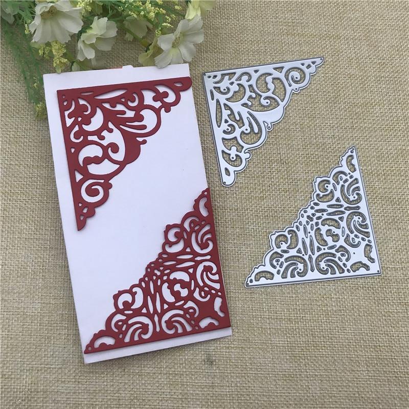 Cutting Dies Embossing Scrapbooking Album Card Decor Lace Design Metal Craft DIY