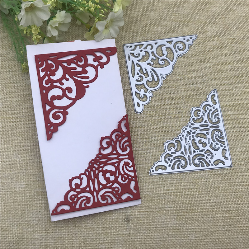 Small Flower Frame Lace Metal Cutting Dies Stencils For DIY Scrapbooking Decorative Embossing Handcraft Die Cutting Template