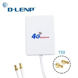 Dlenp 4G LTE Rotuter антенна 3G 4G Внешние антенны для Huawei 3G 4G LTE роутер модем антенна TS9 Разъем с кабелем 3M