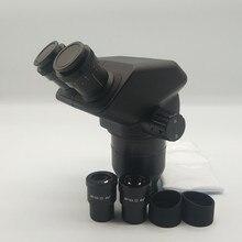 Scientifc 10x/30x стерео микроскоп бинокулярная головка SWF10x-23 окуляр резиновая защита для глаз аксессуары для микроскопа