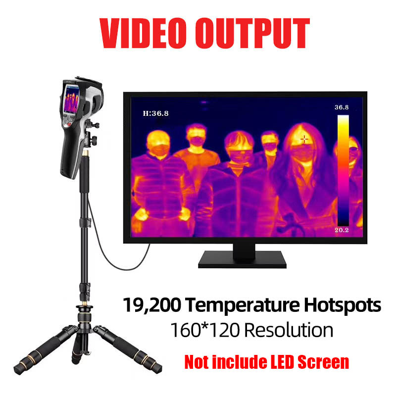 Infrared Thermal Camera With Live Streaming to Computer or TV Bluetooth For Human Body