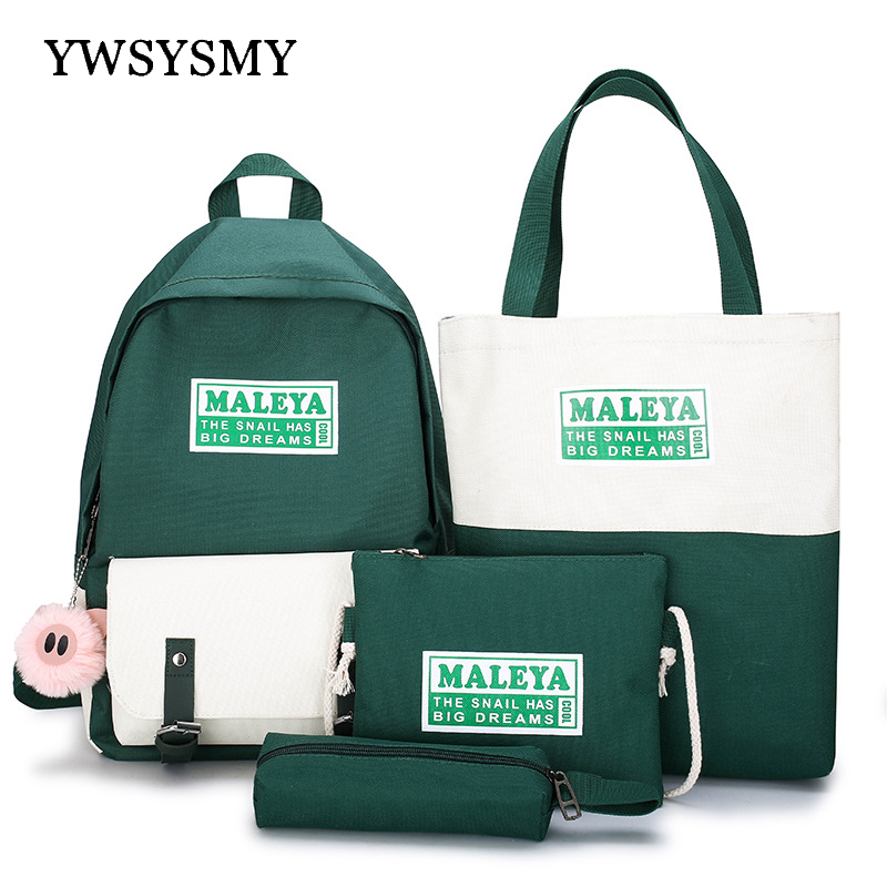 School Bags Female College Student Backpack New Fashion Girls Backpack Women Large-capacity Children School Bag Travel Backpack