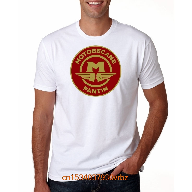 Best Motobecane T Shirt Vintage Motorcycle Service Logo French Scooter Bike 2020 Men's Casual Letter Printed Top Quality Shirts