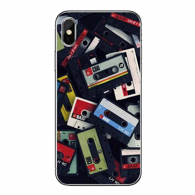 Weiche Transparente Shell Abdeckungen Kassette Band Für Samsung Galaxy Note 8 9 S9 S10 A8 A9 Star Lite Plus A6S a9S