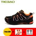 TIEBAO sapatilha ciclismo mtb мужские и женские кроссовки для отдыха на велосипеде самозакрывающиеся дышащие ботинки для горного велосипеда обувь для е...