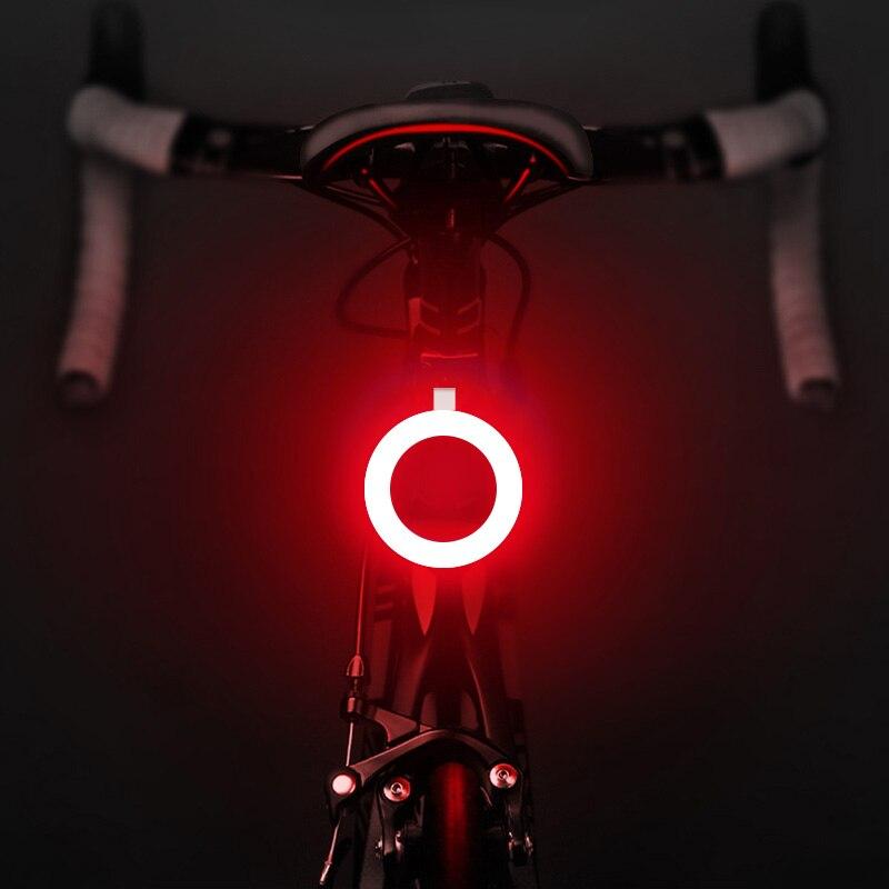 USB зарядка светильник для велосипеда светильник 7 видов стилей светодиодный велосипед Flash Light Хвост светильник езды на велосипеде в ночное в...