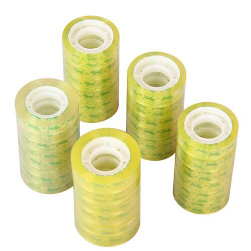 30m Office Stationery Transparent Tape Seal Tape High Packaging Accessories Tape Self-adhesive School Office Viscidity Stro K7H3