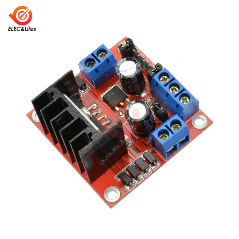 Moteur pas à pas L298 de module de carte de conducteur de pont de la puissance élevée L298N H pour la platine de prototypage de robot de voiture intelligente d'arduino