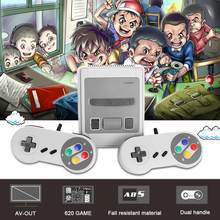 Us/Eu/Uk/Au Plug Hdmi-Compatibel Retro Game Console Tv 8-Bit Game Player ingebouwde 620 Games Voor Super Nintendo + 2 Controller