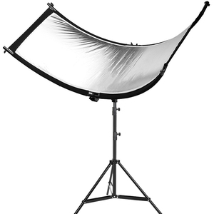 Image 4 - U образный отражатель для фотографии 160*55 см 3 в 1, отражающий светильник, мягкая ткань, диффузор для камеры, видеостудии, фотографии