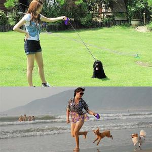 Image 5 - Retrattile Guinzaglio Del Cane Anti Slip Pet Walking Jogging Formazione Guinzaglio per le Piccole Medie Cani di Taglia Grande Fino a 110lbs Roulette per I Cani