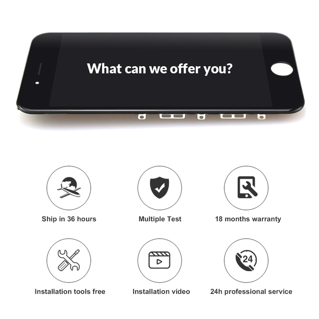 10PCS Display For iphone 7 LCD Screen For Premium Tianma Quality Touch Screen With 3D Touch For iphone 7 LCD Digitizer