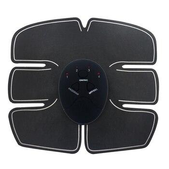Estimulador Abdominal de músculo eléctrico masaje corporal Ejercitador de músculos abdominales máquina de ejercicio para quemar grasa masaje Unisex