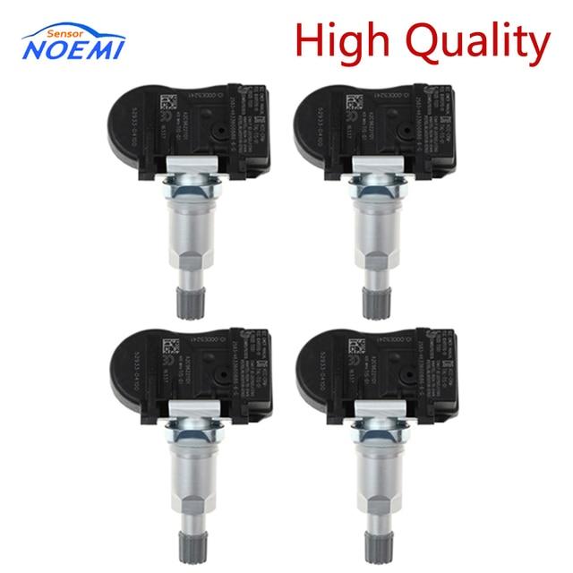 4 adet 52933 D4100 433MHZ TPMS sensörü lastik basıncı izleme Hyundai için sensör Kia NIRO Optima Sportage Sorento 52933D4100
