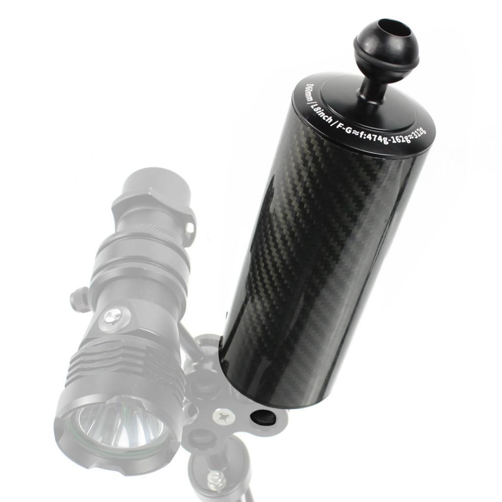 10in Carbon Fiber Floating Arm for Underwater Diving Chamber