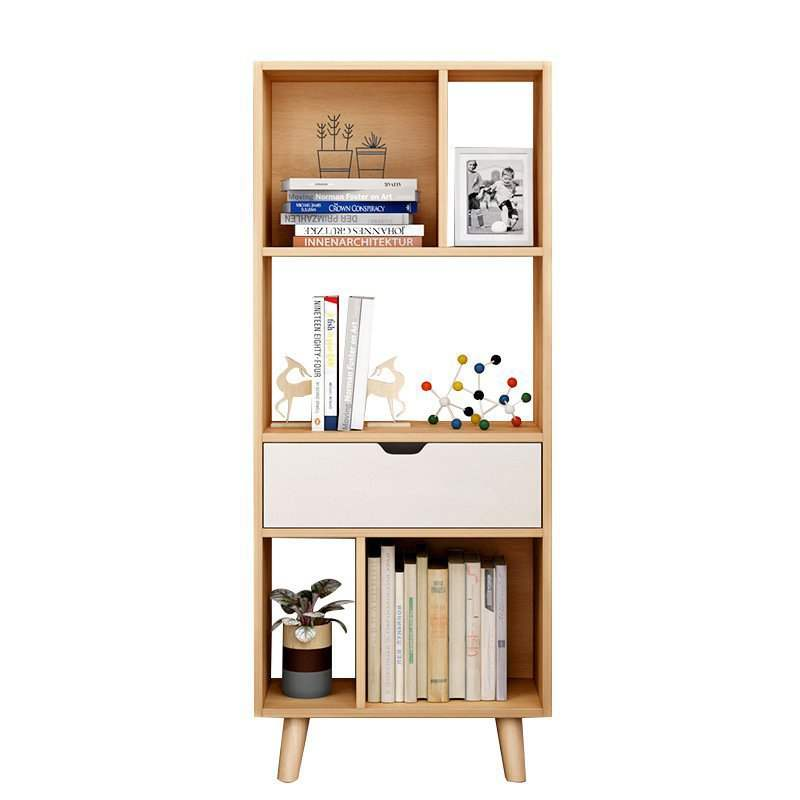Bookshelf Nordic Bookcase Living Room Floor Racks Modern Minimalist Living Room Storage Rack Office Racks Study Bookcase