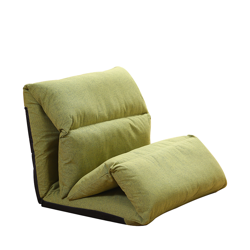 Creative lazy sofa Japanese casual folding single tatami bed small apartment backrest reclining chair simple|  - title=