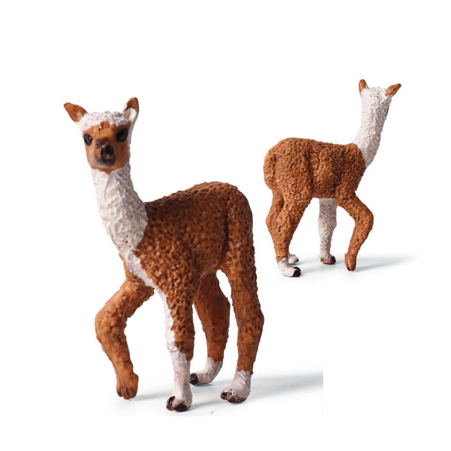 6Pcs Whitetail Deer Family Elk Fawn Figure Animal Toy Collector Decor Model Gift