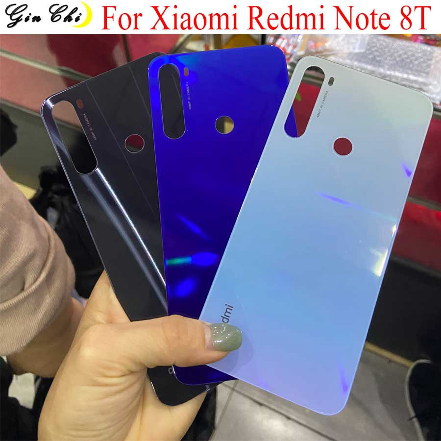 NEW Original For Xiaomi Redmi Note 8T Back Battery Cover Glass Door Case Housing For Redmi Note 8T Battery Cover Note8T Glass