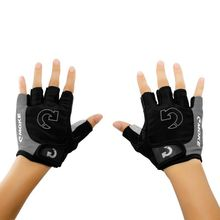 цена на cycling Gloves Sports Half Finger Anti-slip Gel Pad Shockproof Breathable MTB Bicycle Gloves Road Bike Coloreful S/M/L/XL