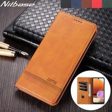 Leather Case For Huawei P40 Pro Mate 40 Lite Matte Flip Card Slots Holder Nova 8 7SE 6 Pro Honor X10 MAX 30 V40 20 Wallet Cover