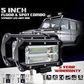 ABUI-2PCS 5 дюймов 72 Вт 6500K светодиодный рабочий светильник для вождения противотуманных фар внедорожника