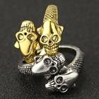 Skull Snake Ring Ser...