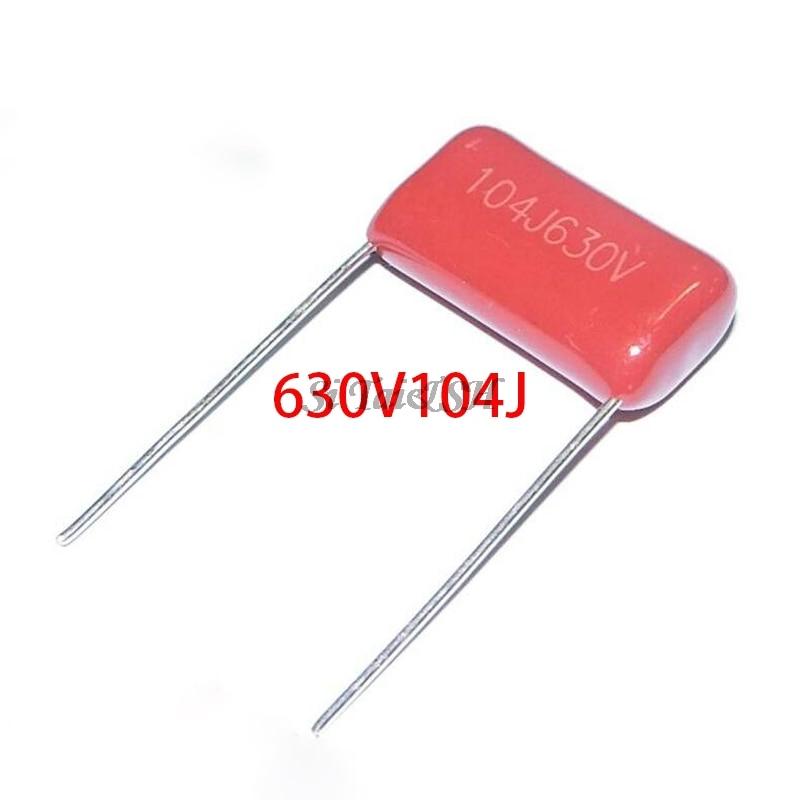 10PCS 630V104J Pitch 15mm 0.1UF 100nf 630V 104 CBB Polypropylene Film Capacitor