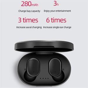 Image 4 - Auriculares TWS, inalámbricos por Bluetooth, auriculares estéreo de graves TWS, auriculares manos libres con cancelación de ruido y micrófono para Redmi, iPhone y Huawei