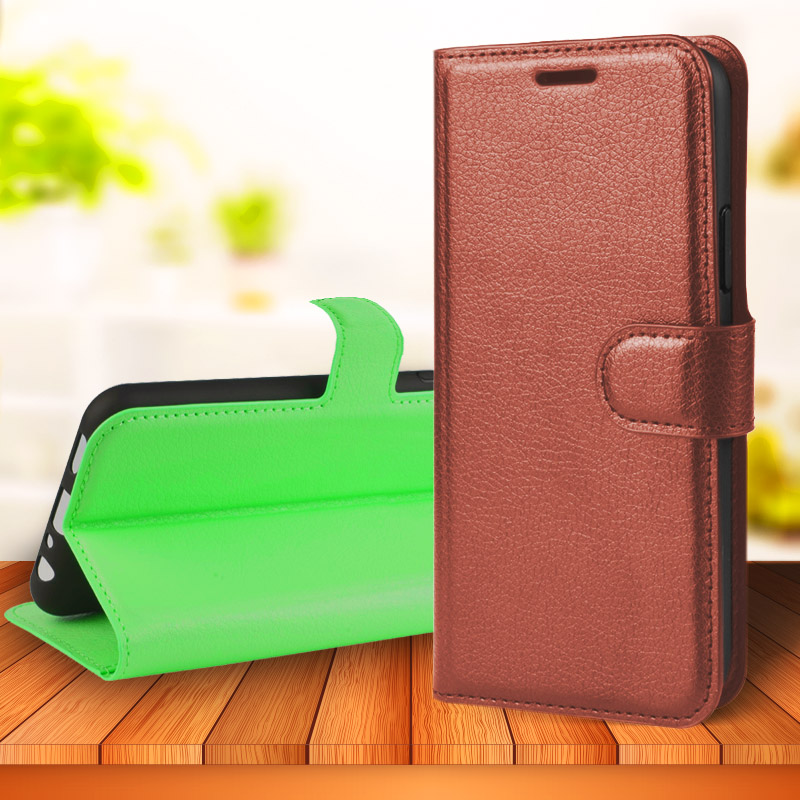 For <font><b>Nokia</b></font> 2.3 6.1 5.1 <font><b>4.2</b></font> 6.2 7.2 3.2 2.2 7.1 3.1 7 1 Plus 2.1 9 PureView Advanced Leather Wallet Stand Flip <font><b>Phone</b></font> Case Cover image