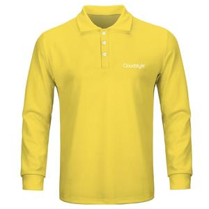 Image 5 - 2020 ファッション男性のポロシャツカジュアル男性ポロシャツ 3D プリント長袖ターンダウン襟通気性のポロシャツ