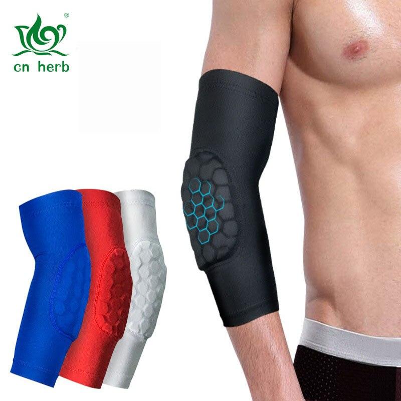 Cn Herb 2 pcs sports honeycomb impact protection outdoor basketball, tennis badminton, horse riding Taekwondo arms