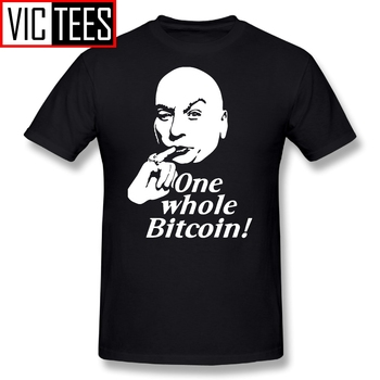 Men T Shirt Iota One Whole Bitcoin - Bitcoin Crypto Currency T-Shirt Pure Cotton Simple Style Tees Crewneck Tops image