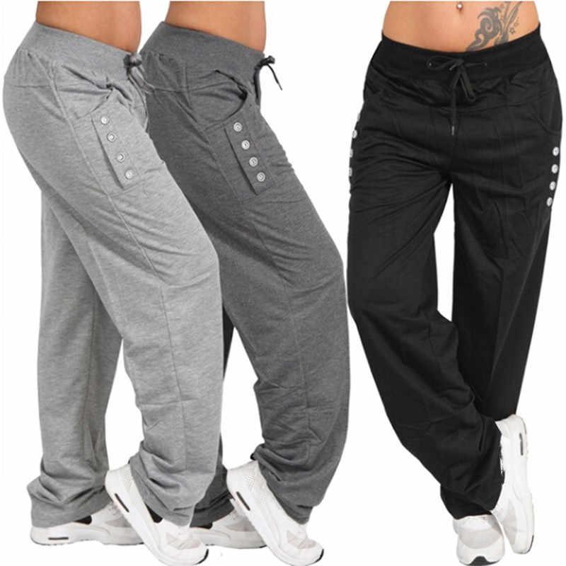 Primavera Otono Pantalones Sueltos Casual Mujer 2020 Negro Gris Pantalones Mujer Pantalon Mujer Jogger Pantalones Talla Grande 3xl Mujer Pantalones Pantalones Y Pantalones Capri Aliexpress