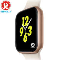 Reloj inteligente de Color dorado para hombre para apple watch iphone 6 7 8 X Samsung Android Smart Watch teléfono compatible con Whatsapp mensaje recordatorio