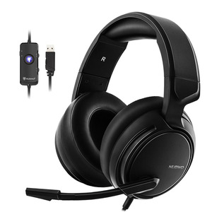 Image 1 - Gaming Headset 7.1 Sound Over ear Headphone Earphone USB with Microphone Bass Stereo Computer Gamer Brand  NUBWO N12