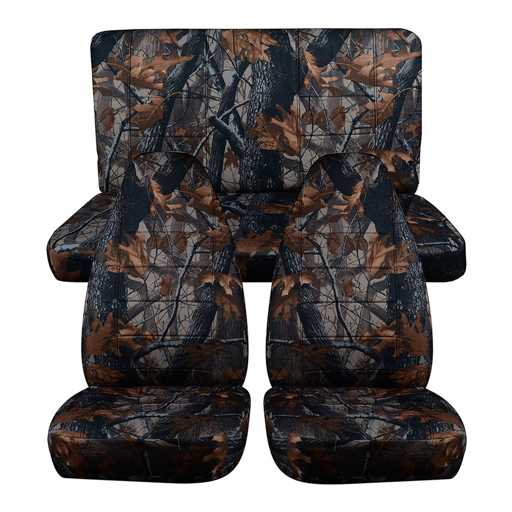 Hunting Camouflage Car Seat Covers Universal Car Interior Accessories Auto Seat Protectors Car Accessories
